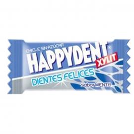 Chicle Happydent Menta Sin Azúcar 200 U.