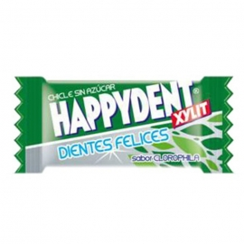 Chicle Happydent Clorofila Sin Azúcar 200 U.