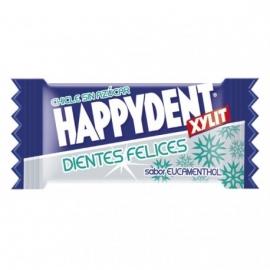 Chicle Happydent Eucamentol Sin Azúcar 200 U.