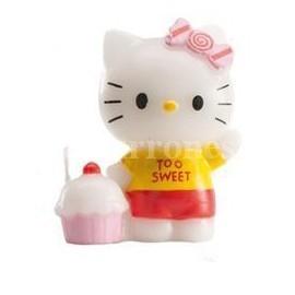 "Vela de Cumpleaños ""Hello Kitty Pastel"""