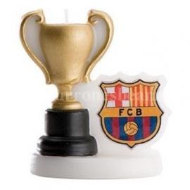 "Vela de Cumpleaños ""Copa del Barcelona"""