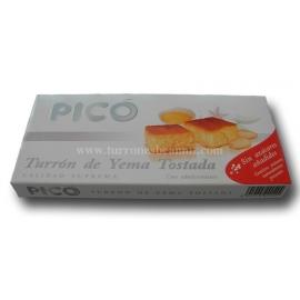 """Nougat Jaune Grillé sans sucre ajouté """"Picó"""" 200 gr."""