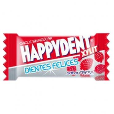 Chicle Happydent Fresa Sin Azúcar 200 U.