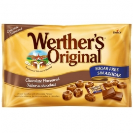 Werther's Original Chocolate Sin Azúcar 1 kg.