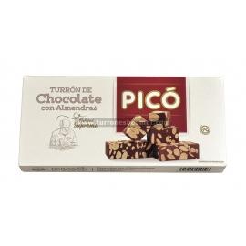 "Chocolate Almond Nougat ""Picó"" 200 gr."