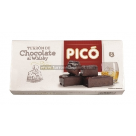 "Nougat Chocolate ao Whisky ""pico"" 200 gr."