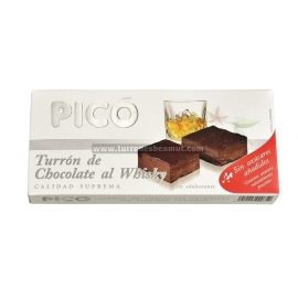 "Nougat Chocolate Whisky No Sugar ""Pico"" 200 gr."