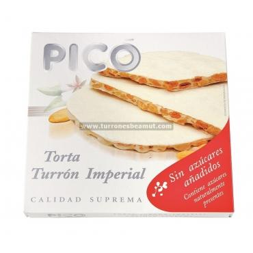 """Gâteau nougat Alicante sans sucre ajouté """"Picó"""" 150 gr."""