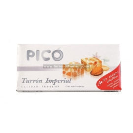 "Turrón de Alicante Sin Azúcares añadidos ""Picó"" 200 gr."