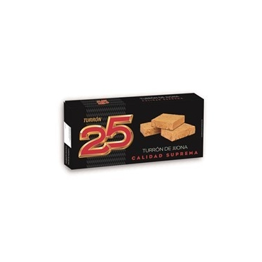 "Turrón de Jijona ""25"" 250 gr."