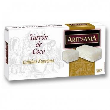 """Coconut nougat """"Artesanía"""" 200 gr."""