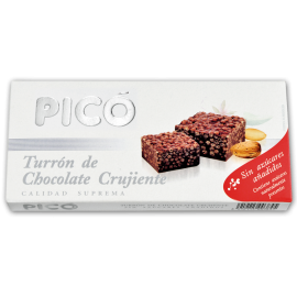 """Zuckerfrei knusprig Schokolade Nougat """"Picó"""" 200 gr."""