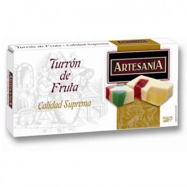 """Turrón de Fruta """"Artesanía"""" 200 gr."""