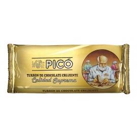 """Turrón de chocolate Crujiente """"Picó"""" 150 gr."""