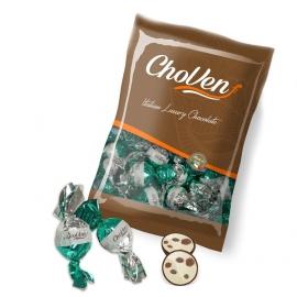 """Bombón Relleno crema de Cookies """"Laica"""""""