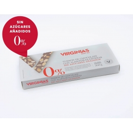Nougat Sugar Free Chocolate with Almonds Virginias 200 gr.
