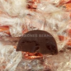 """Gajos de naranja con chocolate """"E. Garrigos"""""""