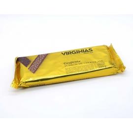 """Crujiente Turrón de chocolate """"Virginias"""" 250 gr."""
