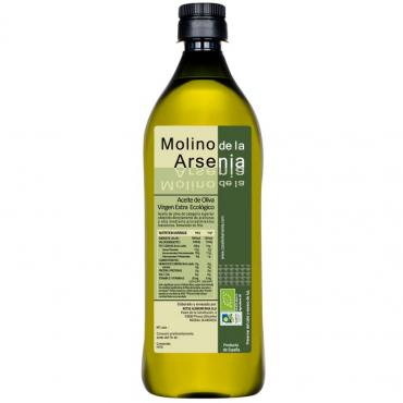 Aceite de Oliva Virgen Extra Ecológico 1 Litro
