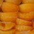 Orange confite en morceaux