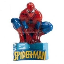 "Bougie d'anniversaire ""Spiderman"""