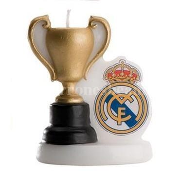 """Vela de Cumpleaños """"Copa del Real Madrid"""""""