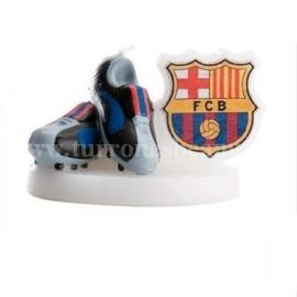 """Vela de Cumpleaños """"Botas del Barcelona"""""""