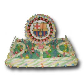 "Cake Marshmallows ""Soccer Field + Wafer"" Serie 2000"
