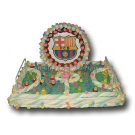 """Kuchen Marshmallows """"Fußballplatz + Wafer"""" Series 2000"""